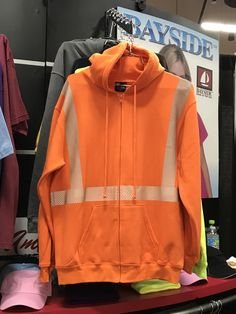 Bayside   Sweatshirt with Safety Reflective   #PPAI2017spp