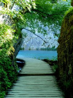 Plitvice Lakes National Park, Croatia, UNESCO World Heritage Site