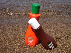 Bebak Bronzlaştırıcı Havuç ve Kakao Özlü Güneş Bakım Sütleri                 @Kermit Alemlerde