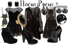 It's just a little Hocus Pocus!.... This is a great costume idea!!