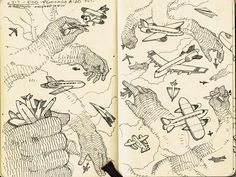 7 | A Look Inside The Sketchbooks Of 10 Terrific Creatives | Co.Design | business + design