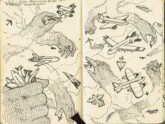 8 | A Look Inside The Sketchbooks Of 10 Terrific Creatives | Co.Design | business + design