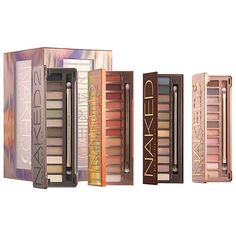 Naked 4some from Urban Decay all of the Naked eyeshadow palettes available on sale at the Sephora VIB Sale 2017 - this link is an affiliate link