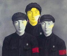Zhang Xiaogang, artista chino,