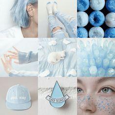 My blue's aesthetic