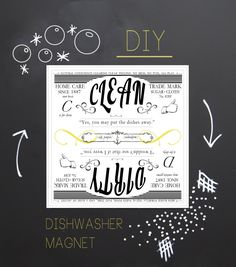 Making one for our apartment ASAP.  With 4 of us you never know whether the dishes are clean.