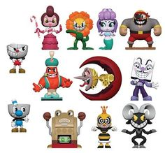 Funko Cuphead Mystery Minis Box of 12 This is a pre-order scheduled for release in Item will ship when we get it in our warehouse. Any questions just ask. Pop Figures, Vinyl Figures, Action Figures, Funko Mystery Minis, Deal With The Devil, Mighty Ape, Mini Blinds, Mode Shop, Italian Artist