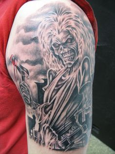 Iron Maiden - Killers, tattoo-netty.cz