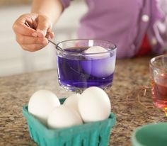How to Dye Easter Eggs - I already have all this stuff, no need to buy kit!