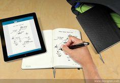 'Livescribe' Moleskine Notebooks Digitize Handmade Notes Almost Instantly