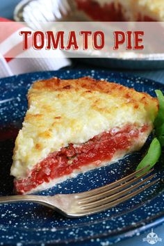 Easy and Delicious Tomato Pie