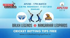 Betting Tips Balkh v Nangarhar Today Cricket Baazigar Provide Match Prediction and Betting Tips Balkh v Nangarhar. All fans of cricket can also get free updates on the page www. Cricket Tips, Cricket Match, Sharjah, Sports Betting, Money, Gaming, Fans, Silver, Followers