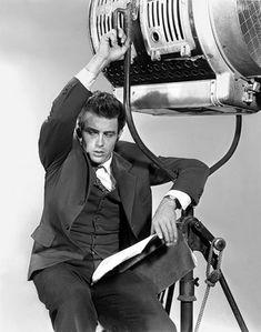 "theniftyfifties: "" James Dean "" James Dean, 1955"