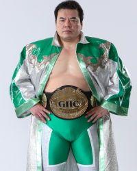 世界最高のレスラーです。