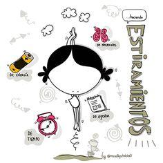 Aquí… haciendo estiramientos. Estiramientos de agenda, de tiempo, de energía, de neuronas. Eeeeegunon mundo!!! #autodesksketchbook #inktober #inktober2017 @inktober ¡¡¡Compártelo!!!