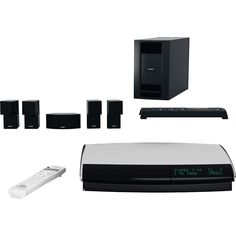 Bose (43478) LIFESTYLE 48 Home Entertainment System - Series IV - (Black)