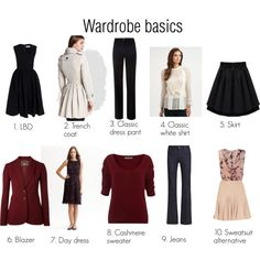 """Tim Gunn's Wardrobe Basics SC"" by oscillate on Polyvore"
