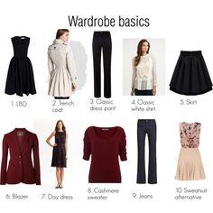 """Tim Gunn's Wardrobe Basics SC"" by oscillate on Polyvore"