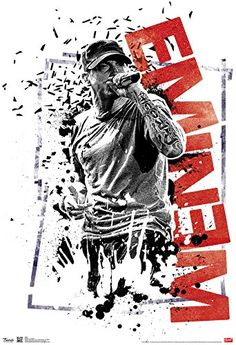 Whatever you call him, Eminem is a force to be reckoned with in the world of Hip Hop! A sweet poster! Check out the rest of our awesome selection of Eminem posters! Need Poster Mounts. Eminem Rap, Eminem Quotes, Eminem Funny, Arte Do Hip Hop, Hip Hop Art, Eminem Tattoo, Eminem Poster, Eminem Wallpapers, Rasengan Vs Chidori