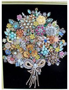 Xfinity.com Search #vintage #jewelry #art #how #to #make Cool jewelry art, this one is my favorite. | DIY art | Pinterest ... Costume Jewelry Crafts, Vintage Jewelry Crafts, Recycled Jewelry, Vintage Costume Jewelry, Vintage Costumes, Antique Jewelry, Vintage Jewellery, Silver Jewelry, Topaz Jewelry