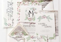 Georgous Wedding Invitations from Oh So Beautiful Paper