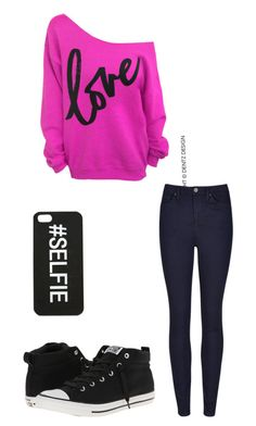 """""""Untitled #1"""" by teresalashula ❤ liked on Polyvore featuring Converse"""
