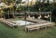 Meaghan and Luke's Romantic Bohemian Wedding at Villa the Sanctuary in Canggu - The Bali Bride Outdoor Wedding Decorations, Outdoor Wedding Reception, Outside Wedding, Rustic Wedding, Wedding Ceremony, Backyard Wedding Lighting, Wedding Backyard, Wedding Ideas, Small Outdoor Weddings