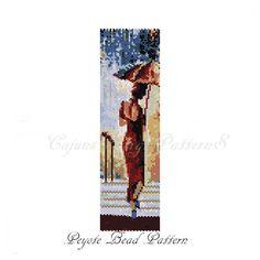 WOMAN in the RAIN Peyote Bead by CajunsDesignPatternS on Etsy