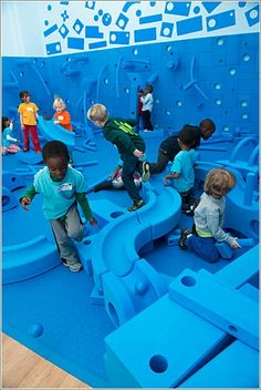 Play work build at National Building Museum of Washington.