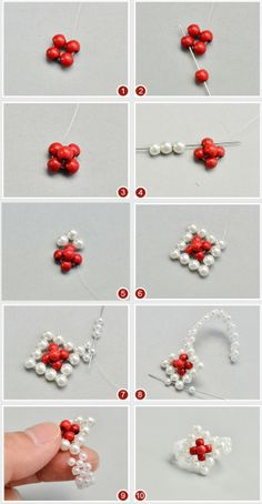 seed bead necklace patterns for beginners Seed Bead Bracelets Tutorials, Beaded Bracelets Tutorial, Diy Bracelets Easy, Jewelry Making Tutorials, Beading Tutorials, Beaded Necklace Patterns, Seed Bead Patterns, Beading Patterns, Bracelet Patterns