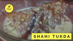 Here is the recipe of Shahi Tukda, from your favorite food channel It is a nice, royal mughlai dessert of fried sugar syrup coated bread to. Love Food, Food To Make, Favorite Recipes, Desserts, Tailgate Desserts, Deserts, Dessert, Food Deserts