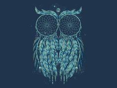Owl Dream Shirt By Qetza