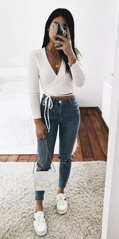 Casual Outfits 710091066234509615 - Süße Sommeroutfits, die du schon besitzen solltest – Wass Sell cute summer outfits you should already own – Wass Sell, Source by Boho Outfits, Teen Fashion Outfits, Look Fashion, Fall Outfits, Paris Fashion, Street Fashion, Womens Fashion, Queer Fashion, Fresh Outfits