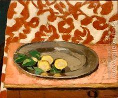 Henri Matisse: Stll life Lemons on a Pewter Plate