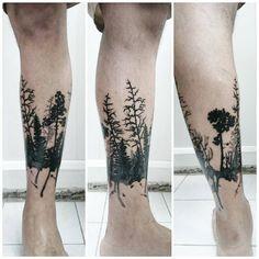 Darkwoods  by Cansın Konuralp  #blacktattooart #blxckink #btattooing #blacktattooing #blackworkers #blackworkerssubmission #darkartists #dotwork #dots #iblackwork #inkstinctsubmission #tattoo #ink #design  #artwork #tattooer #cansinkonuralp #linework #inkjunkeyz #onlyblackart  #blackartist