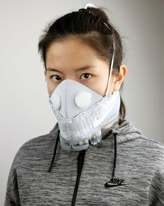 Nike Air VaporMax Gets Mask Makeover from Zhijun Wang Hypebeast, Airsoft Gas Mask, Breathing Mask, Half Face Mask, Face Masks, Fashion Mask, Nike Air Vapormax, The Chic, Mask Design