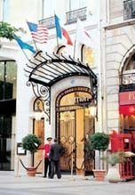 marriott champs elysees - stayed at this luxury hotel 9/2013. 25th year anniversary.
