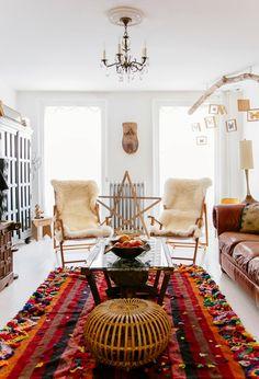 Sea of Girasoles: Inspiration: bohemian interiors