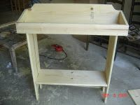 Lee Hill Primitives: Dry Sink Tutorial