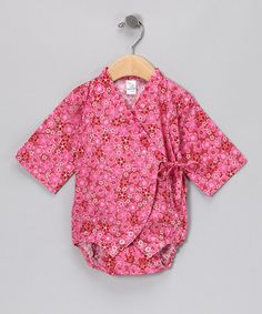 Pink Blossom Wrap Bodysuit