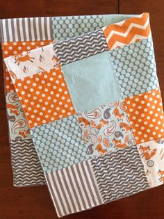 Hey, I found this really awesome Etsy listing at https://www.etsy.com/listing/263141506/modern-baby-quilt-baby-boy-quilt-baby