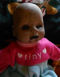 Tiny the Littlest Zombie Baby by MistressRae13 on Etsy, $12.00 ADORABLE!!