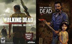 The walking dead game Vs. The walking dead Survival Instinct