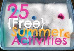 25 {Free} Summer Activities