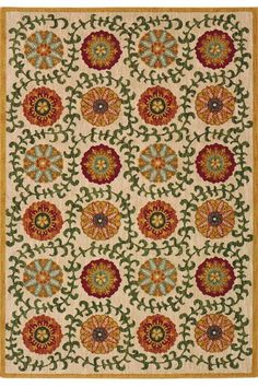 Mola Area Rug: a beautiful rug that adds visual interest to your floors. #HDCrugs HomeDecorators.com