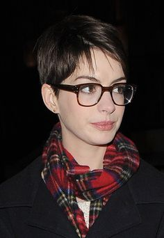 I have this theory that if you cut off all her hair, she'd look like a British man.