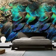 Image result for peacock mural design