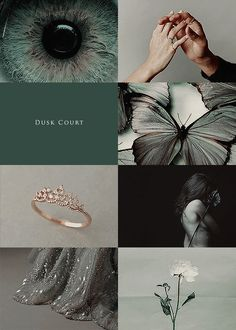 AU Courts of Prythian aesthetic: one missing court - Dusk Court 1/2