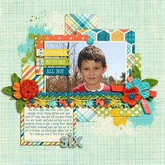 Sweet Shoppe Designs::NEW Releases::National Scrapbook Day 2013::Life Stories: This Boy by Kristin Cronin-Barrow & Zoe Pearn