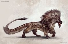 Leontophone- Medieval legend: a small, african creature that is deadly specifically towards lions. Their meat and urine are poisonous to lions. Lions either avoid them all together or shred them to pieces with their claws.